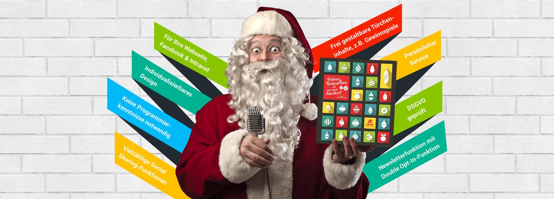 Online Adventskalender erstellen Weihnachtskalender